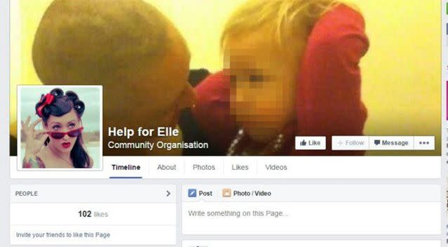 The Facebook page for Edmunds helped to raise more than $2000 in donations. Photo: Facebook
