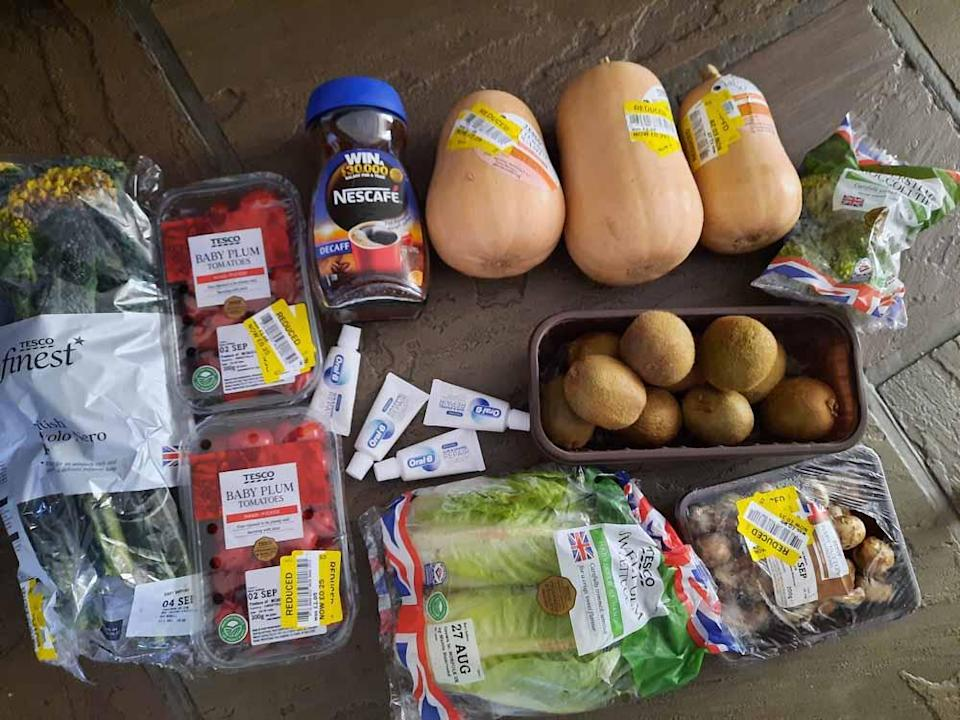 Sue collects unwanted food from Tesco to give to her community (Collect/PA Real Life).