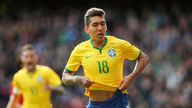TEAM NEWS: Firmino replaces injured Jesus for Brazil
