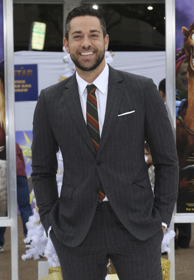 Zachary Levi at the premiere of <em>The Star</em>on Nov. 12, 2017, in Los Angeles. (Photo: Willy Sanjuan/Invision/AP)