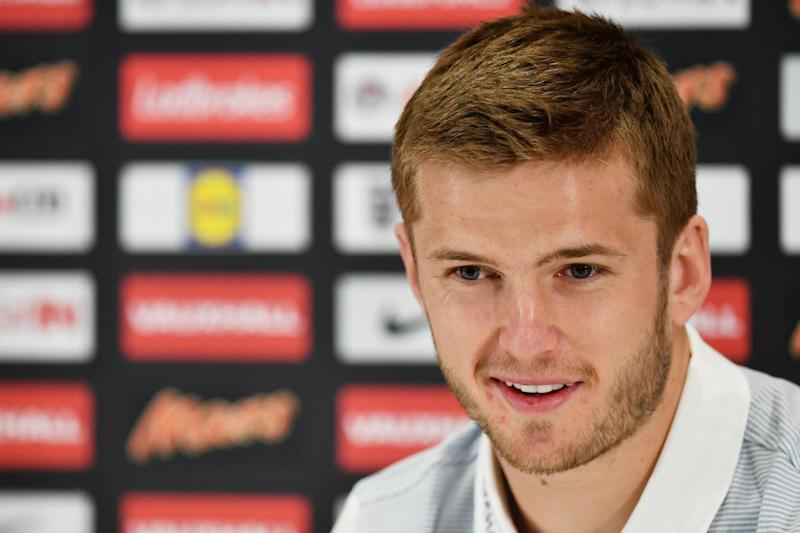 Captain Dier: The Spurs midfielder hopes to one day wear the Three Lions armband: Getty Images