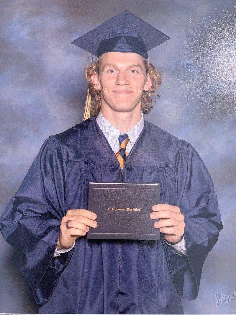Roberson graduate Riley Howell in 2016.