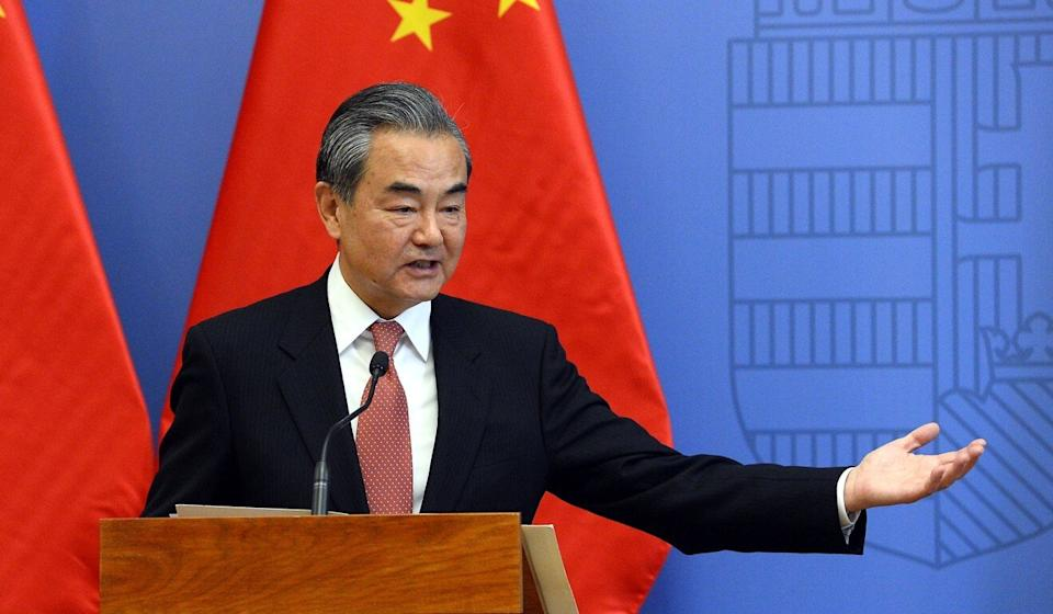 Chinese Foreign Minister Wang Yi. Photo: EPA-EFE