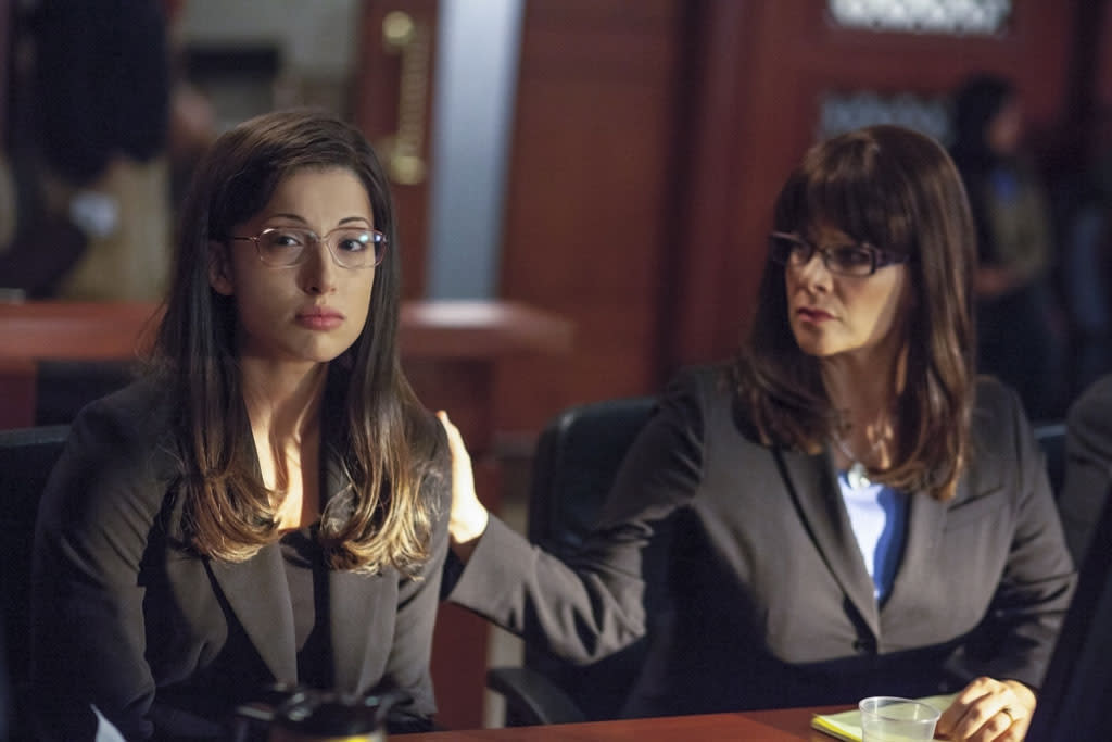 "Tania Raymonde and Meredith Salenger star as Jodi Arias and Jennifer Willmott in the all-new Lifetime Original Movie, ""Jodi Arias: Dirty Little Secret,"" premiering Saturday, June 22, at 8:00pm ET/PT."