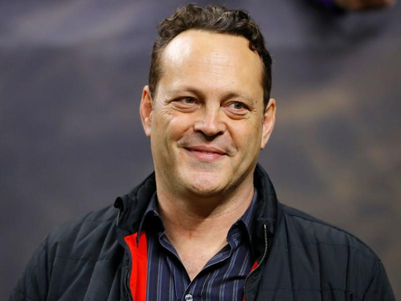 Vince Vaughn at the National Championship game earlier this week, where the Trump handshake took place: Kevin C. Cox/Getty Images
