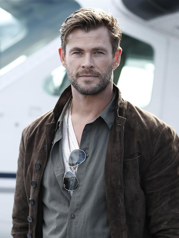 <p>Hemsworth is returning as the loveable God of Thunder.</p>