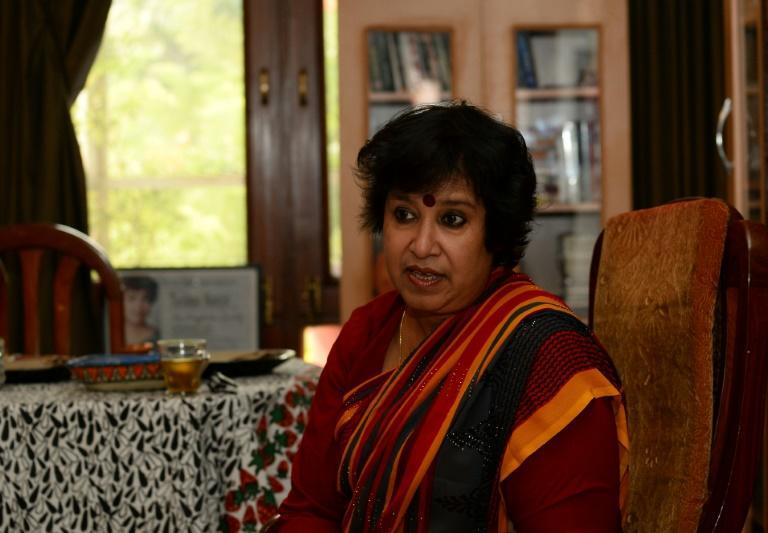Banished from her homeland with a bounty on her head, author Taslima Nasreen has been forced to live in exile for more than a quarter of a century -- but she refuses to bow to the religious fundamentalists that want her dead