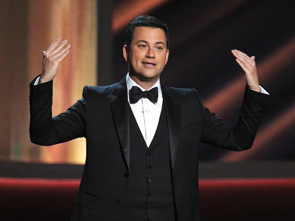 Jimmy Kimmel is hosting this year's virtual Emmys ceremony (Getty Images)