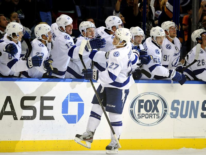 Drouin lifts Lightning over Panthers in shootout