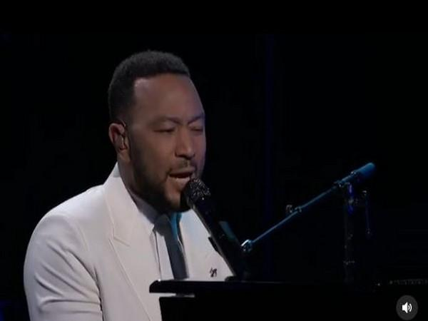 John Legend during the emotional tribute at BBMAs 2020 (Image courtesy: Instagram)