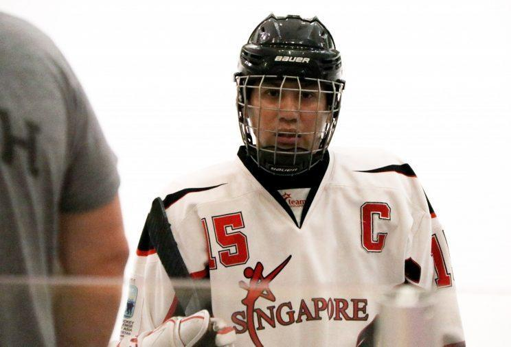 Captain Michael Loh is the oldest player in the national team at age 41. (Photo: Nigel Chin/Yahoo Singapore)