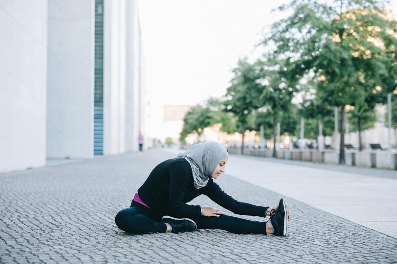 """<p>If your mind can't let something go, shift focus from that obsession to your body by doing your favorite form of focused, mindful exercise. Anything that gets your body moving and your mind focused is a good thing, so work up a sweat with <a href=""""https://www.popsugar.com/fitness/Best-Full-Body-YouTube-Workouts-46436785"""" class=""""ga-track"""" data-ga-category=""""Related"""" data-ga-label=""""http://www.popsugar.com/fitness/Best-Full-Body-YouTube-Workouts-46436785"""" data-ga-action=""""In-Line Links"""">your favorite activity or video</a>!</p>"""