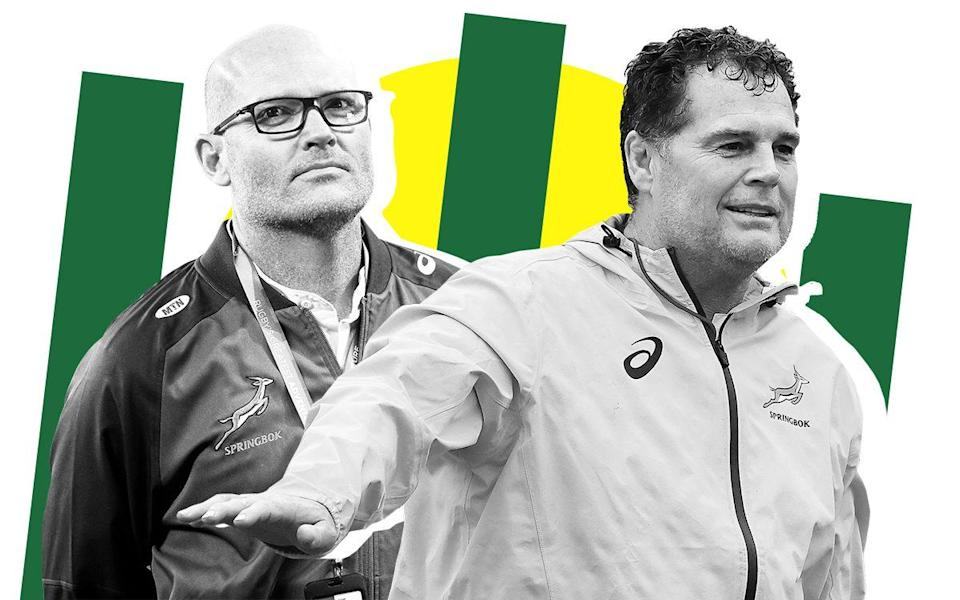 Rassie Erasmus' Twitter rants raise a genuine question: who is really in charge of the Springboks?