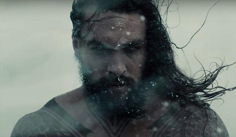 Jason Momoa as Aquaman - Credit: Warner Bros.