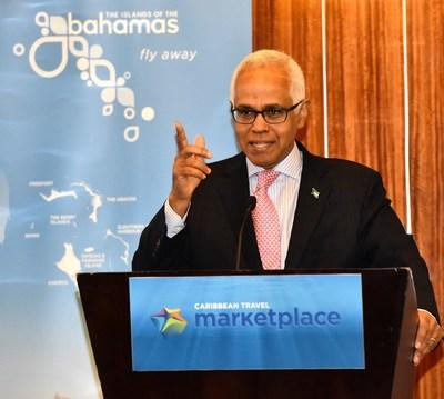 Bahamas Minister of Tourism & Aviation, Dionisio D'Aguilar