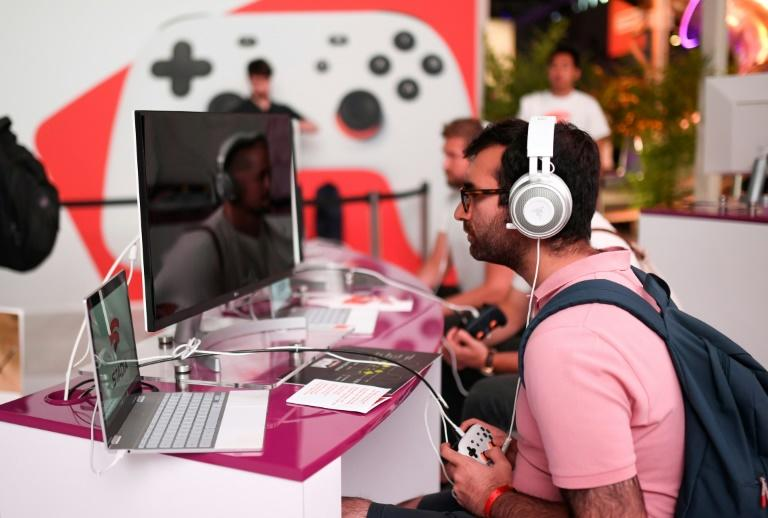 Stadia Pro subscriptions, priced at $10 a month in the US, will be available in 14 countries in North America and Europe (AFP Photo/Ina FASSBENDER)