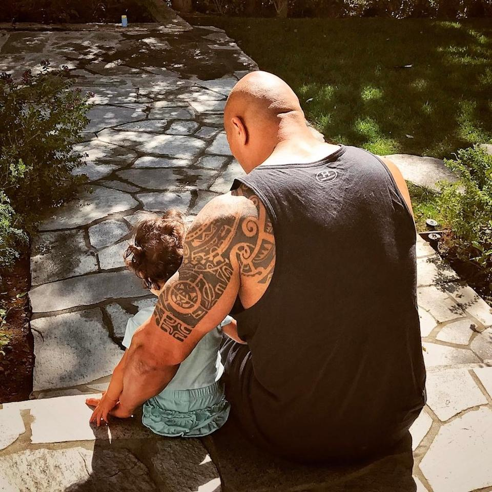 """<p>""""<a rel=""""nofollow"""" href=""""https://www.instagram.com/p/BTEhrT8Fi0A/"""">Jazzy, let daddy tell you his goals</a>,"""" the Rock wrote in <a rel=""""nofollow"""" href=""""https://www.yahoo.com/celebrity/dwayne-rock-johnson-heart-heart-daughter-jasmine-shes-bug-dads-saying-224900962.html"""">a sweet post to his baby girl, Jasmine</a>. """"By 5, you'll be looking people in the eye when you firmly shake their hand. By 8, you'll know how to fish, drive daddy's pick up truck and do cardio. And by 10, you'll be able to directly say to people, 'Great job, I like it a lot, but let's see how we can make it better.'"""" (Photo: The Rock via Instagram) </p>"""
