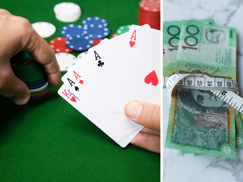 Gamblers hoping to lock in that home loan may have to rethink their gambling habit. (Photos: Getty)