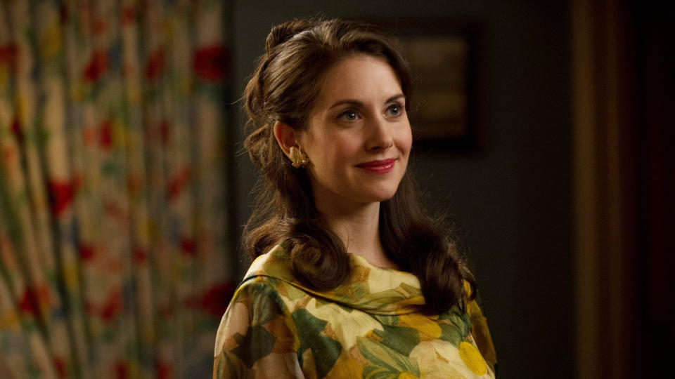 Alison Brie as Trudy Campbell in 'Mad Men'. (Credit: AMC)