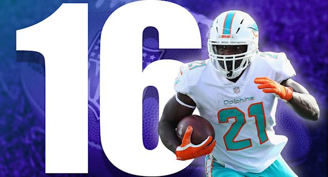 <p>The Dolphins probably shouldn't have been as high as ninth last week, but you can't justify putting one of three 3-0 teams too low.<br>(Frank Gore) </p>