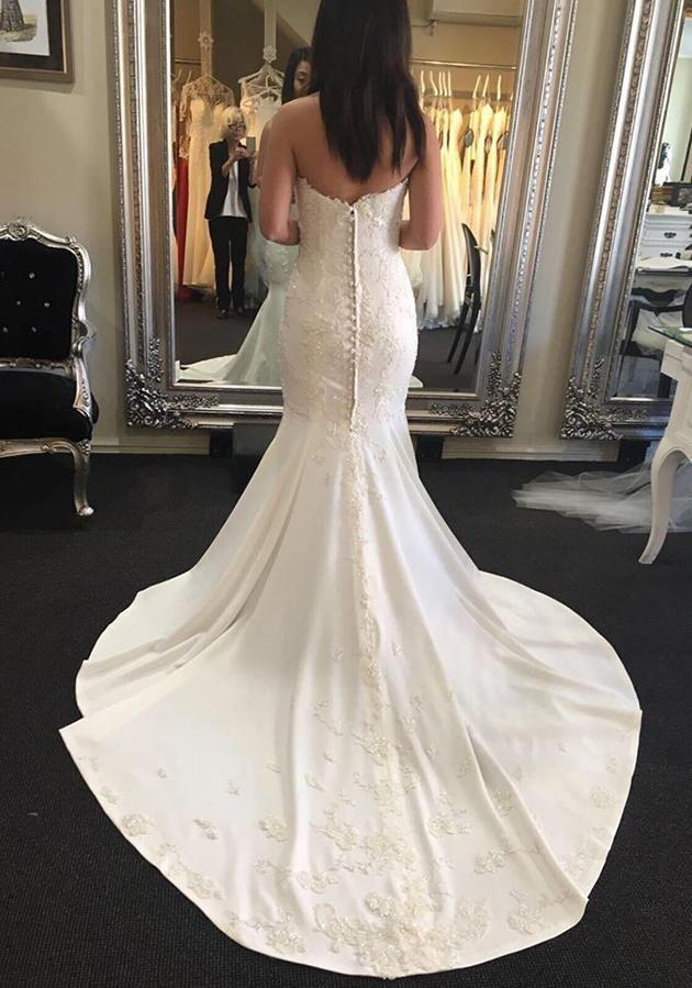 The 24-year-old had bought her dress and had paid the deposit for 75 per cent of the wedding day. Photo: Supplied
