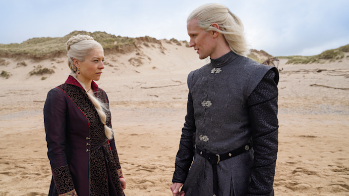 Emma D'Arcy and Matt Smith play Targaryens in the 'Game of Thrones' prequel.