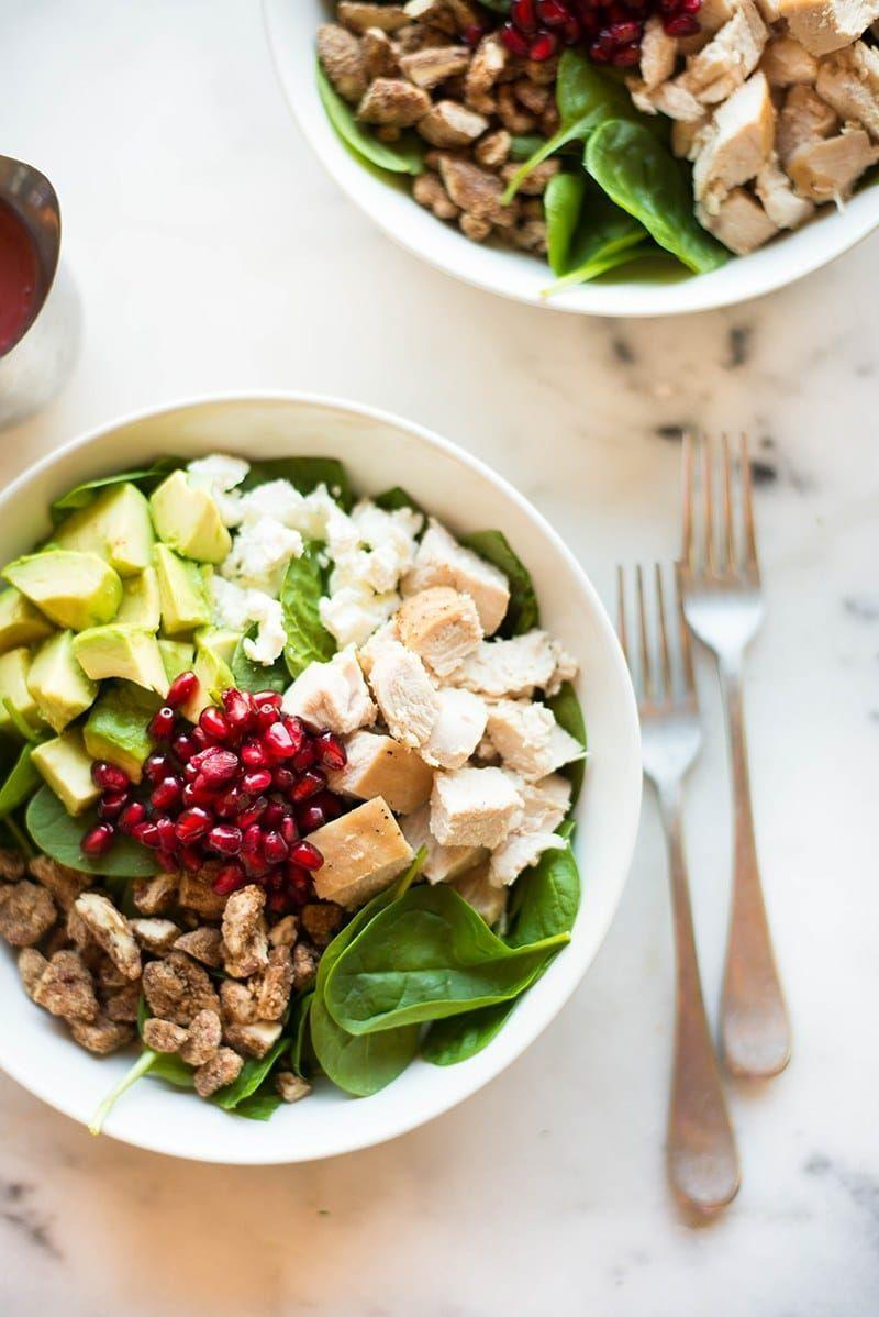 """<p>This Thanksgiving salad will be as good as the feast itself! Use leftover turkey to turn your next-day lunch into Thanksgiving in a bowl.</p><p><strong>Get the recipe at <a href=""""https://www.asweetpeachef.com/leftover-turkey-salad-cranberry-vinaigrette/"""" rel=""""nofollow noopener"""" target=""""_blank"""" data-ylk=""""slk:A Sweet Pea Chef"""" class=""""link rapid-noclick-resp"""">A Sweet Pea Chef</a>. </strong></p><p><a class=""""link rapid-noclick-resp"""" href=""""https://go.redirectingat.com?id=74968X1596630&url=https%3A%2F%2Fwww.walmart.com%2Fsearch%2F%3Fquery%3Dpioneer%2Bwoman%2Bcooking%2Butensils&sref=https%3A%2F%2Fwww.thepioneerwoman.com%2Ffood-cooking%2Fg33980564%2Fthanksgiving-salad-recipes%2F"""" rel=""""nofollow noopener"""" target=""""_blank"""" data-ylk=""""slk:SHOP COOKING UTENSILS"""">SHOP COOKING UTENSILS</a></p>"""