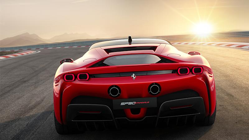 Ferrari's new SF90 Stradale