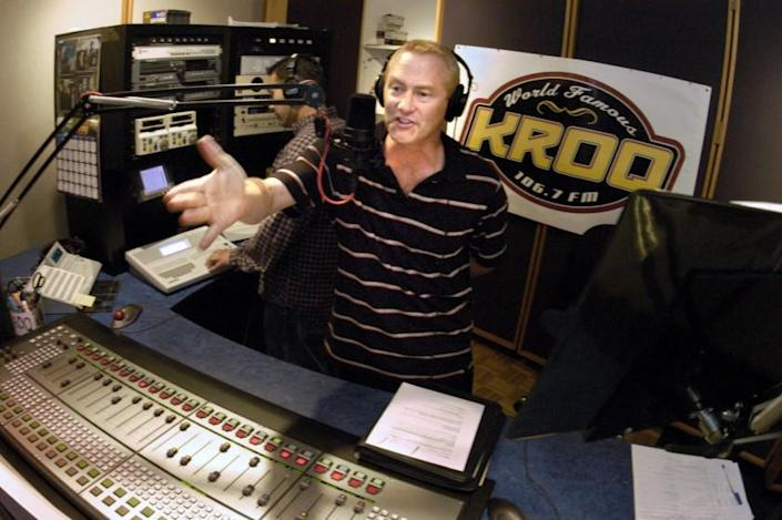 """Kevin Ryder of KROQ's """"Kevin & Bean"""" morning show."""