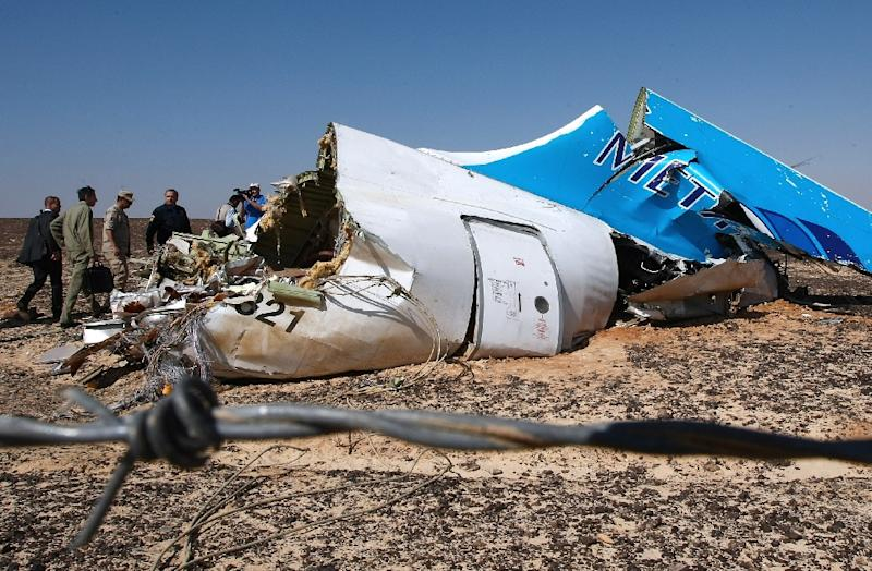 The Russian airliner crashed in Wadi al-Zolomat in Egypt's Sinai Peninsula on October 31, killing all 224 people on board