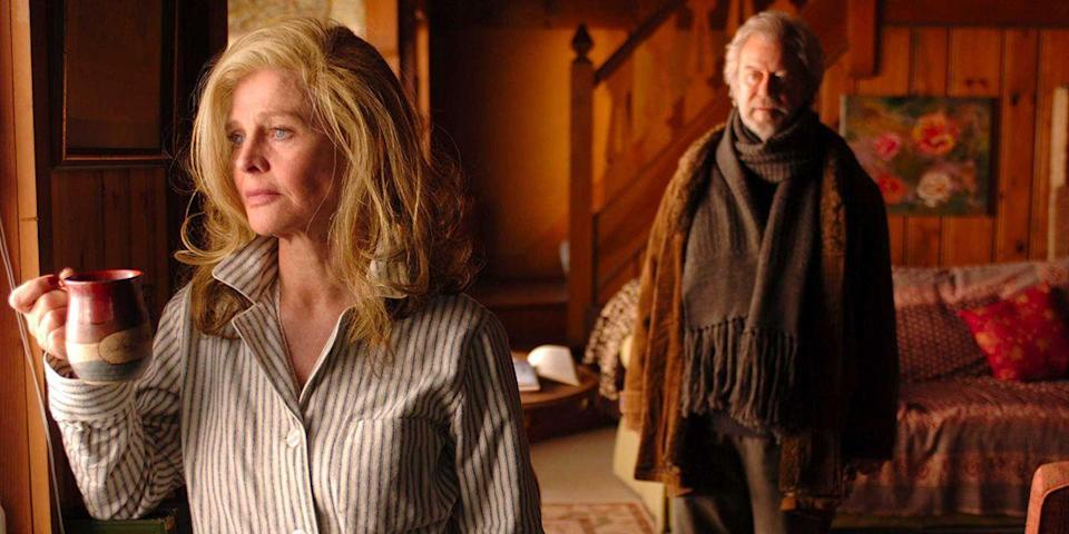 "<p>Sarah Polley broke our hearts with her painfully beautiful story of love and Alzheimer's disease. It's about a husband (Gordon Pinsent) who can only watch his institutionalized wife, played by Julie Christie, slip away and fall in love with another patient at her nursing home. Tissues. You will need tissues. <a class=""link rapid-noclick-resp"" href=""https://www.amazon.com/Away-Her-Gordon-Pinsent/dp/B008Y772PW/?tag=syn-yahoo-20&ascsubtag=%5Bartid%7C10056.g.6498%5Bsrc%7Cyahoo-us"" rel=""nofollow noopener"" target=""_blank"" data-ylk=""slk:Watch Now"">Watch Now</a></p>"