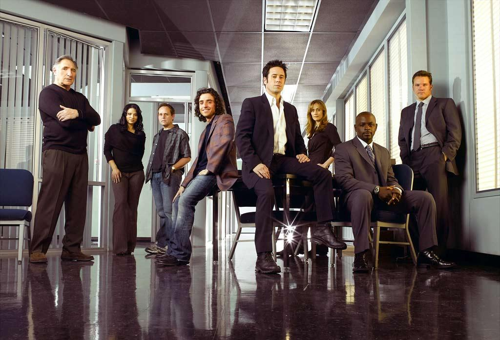 """The cast of """"Numb3rs."""""""