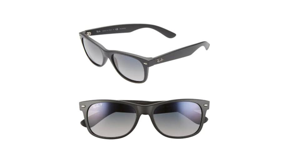 Ray-Ban 'New Wayfarer' 55mm Polarized Sunglasses - $80 (originally $194)