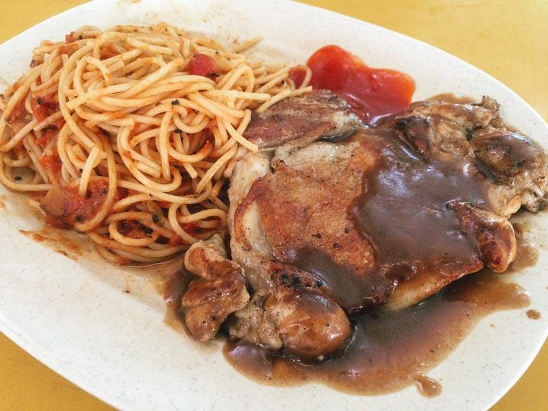 Indulgence @ Tanglin Halt - Chicken Chop_Kopitiam Western Food