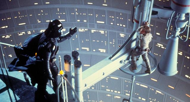 Darth Vader implores Luke to turn to the Dark Side of the Force. (Lucasfilm)