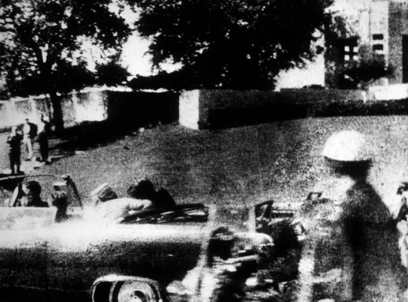 <strong>The moment President John F. Kennedy was shot in Dallas, Texas on November 22, 1963</strong>