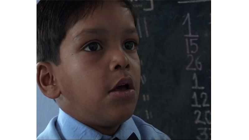 Ijaz, a four-and-a-half-year old eyewitness of the riots in Chamampura