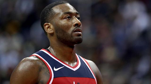 John Wall had a message for rapper Drake after winning the last two games against the Raptors.