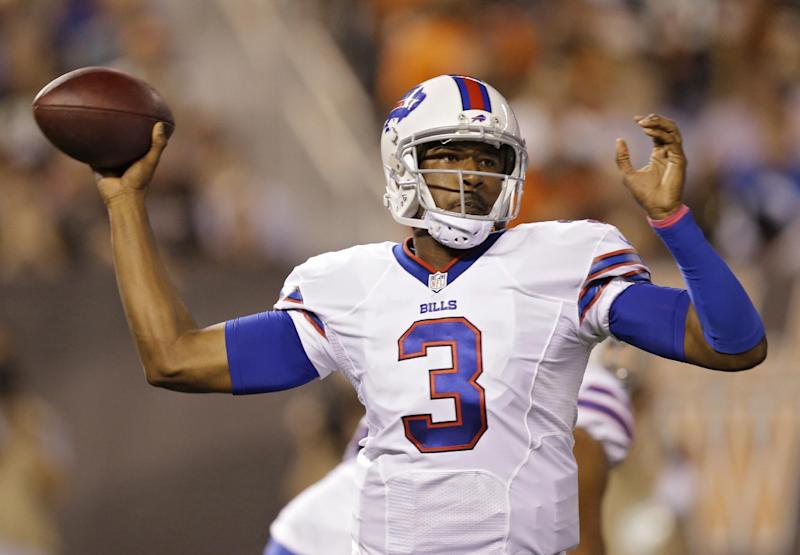 Bills QB Manuel expected to miss 4-6 more weeks