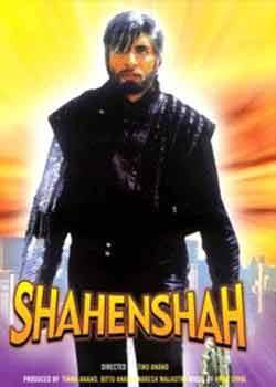 """Corrupt policeman by day, black-leather-chain-armguard-salt-and-pepper-wig clad dispenser of justice by night. Shahenshah was Amitabh Bachchan's first outing as a secret identity superhero.  Apart from his super strength, breath that echoed far and wide and godly voice, he had that one superpower by which he impregnated the mothers of all villains in the world. As he said, """"Rishte mein toh hum tumhare baap hote hain…"""""""