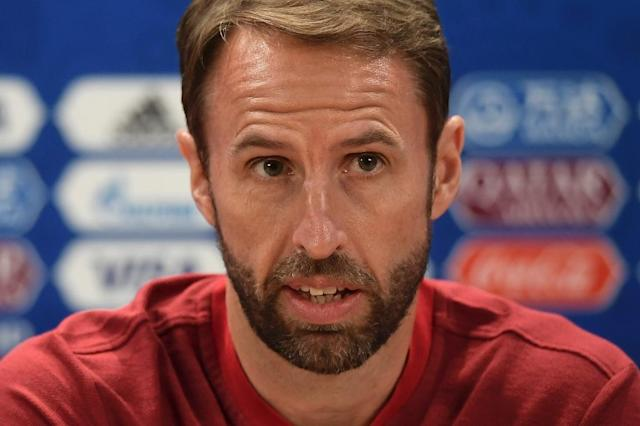 Gareth Southgate has been compared to Jose Mourinho by England's assistant coach Steve Holland (AFP Photo/NICOLAS ASFOURI)