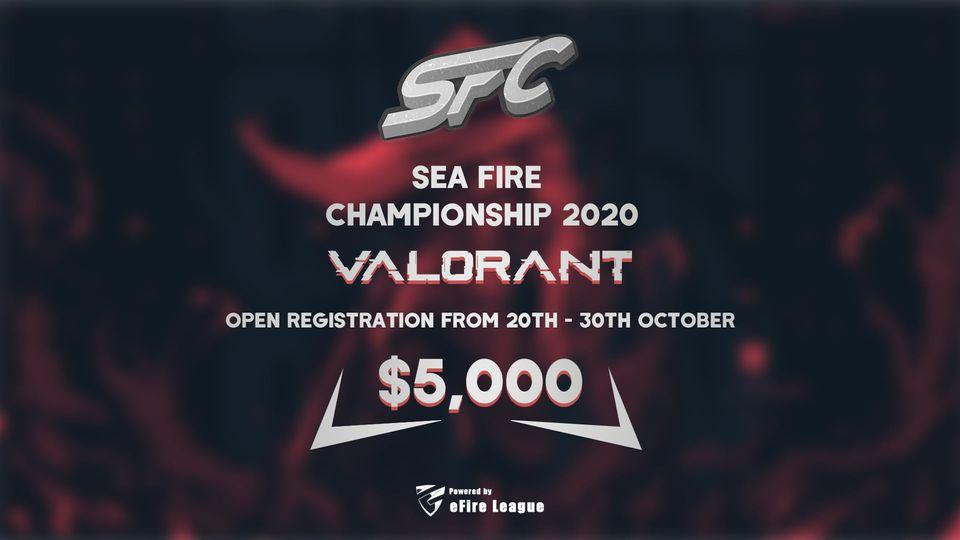 SEA Fire Championship 2020 (Photo: eFire League Facebook)