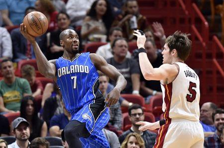 NBA: Orlando Magic at Miami Heat