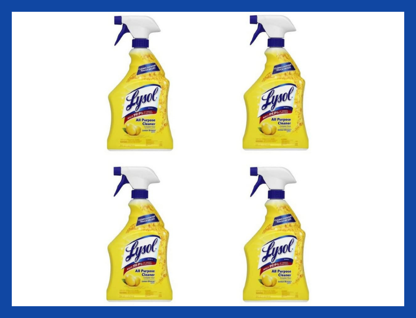 Ready-to-Use All-Purpose Cleaner, Lemon Breeze, 32-ounce Spray Bottle (four-pack). (Photo: Amazon)