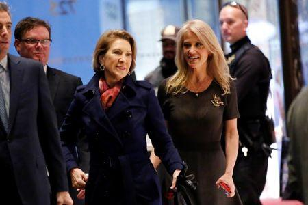 Donald Trump Meets with Former 2016 Rival Carly Fiorina