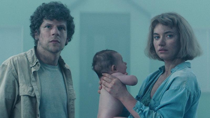 Jesse Eisenberg and Imogen Poots Are Trapped in the Suburbs in Exclusive 'Vivarium' Trailer