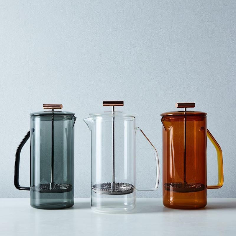 """<a href=""""https://food52.com/shop/products/3315-glass-french-press"""" target=""""_blank"""">Shop it here</a>."""
