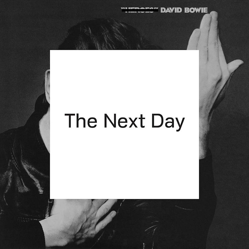 """This CD cover image released by Columbia Records shows """"The Next Day,"""" by David Bowie. (AP Photo/Columbia Records)"""