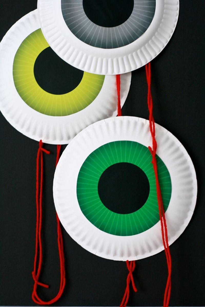 "<p>Does anyone know why giant eyeballs are 10x scarier than regular-size eyeballs? Maybe if you try this craft, you'll find out why. </p><p><em><a href=""https://pagingsupermom.com/eyeball-door-garland-12-free-printables/"" rel=""nofollow noopener"" target=""_blank"" data-ylk=""slk:Get the tutorial at Paging Supermom »"" class=""link rapid-noclick-resp"">Get the tutorial at Paging Supermom »</a></em> </p>"