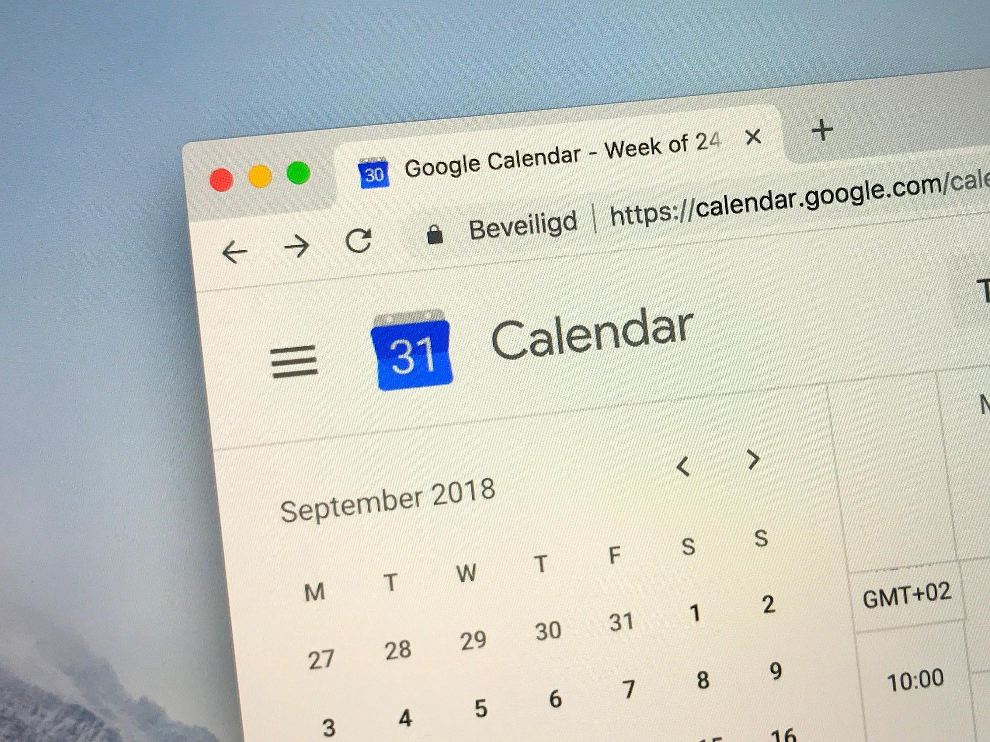 How to change the colors on your Google Calendar to differentiate your events and calendars